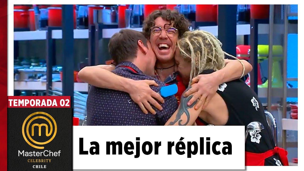 La 'pizza' de Gallina, Gastón y Felipe | TEMPORADA 02 | MASTERCHEF CELEBRITY CHILE