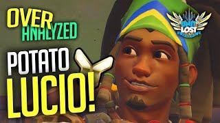 Overwatch Coaching - POTATO LUCIO! Terrible Graphics! [OverAnalyzed]