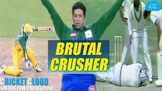 Wasim Akram The Toe & Head Crusher | Nightmare for the Batsman !!