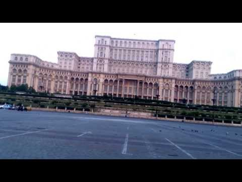 Romanian Parliament,Bucharest,Romania with Daniel Dimitrov