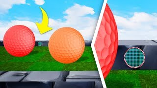 Spot The HIDDEN Hole In One To WIN! - Golf It