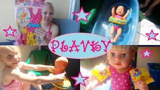 Plavky, kruh a křidélka pro panenky | Testování hraček | Máma v Německu thumbnail