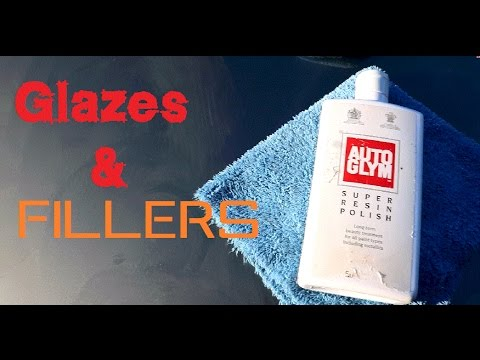 What is a Glaze? An Introduction to automotive glazes and fillers Super Resin Polish autoglym SRP