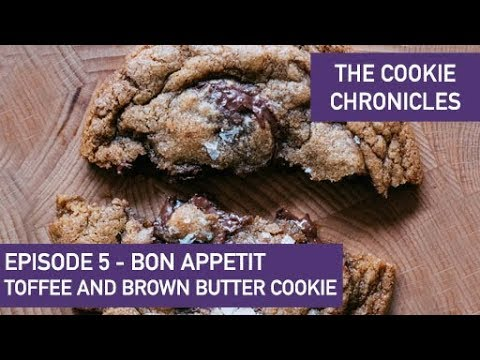 Bon Appetit Chocolate Chip Cookies - Ep 5 Cookie Chronicles - In Partnership W/ Guittard Chocolate