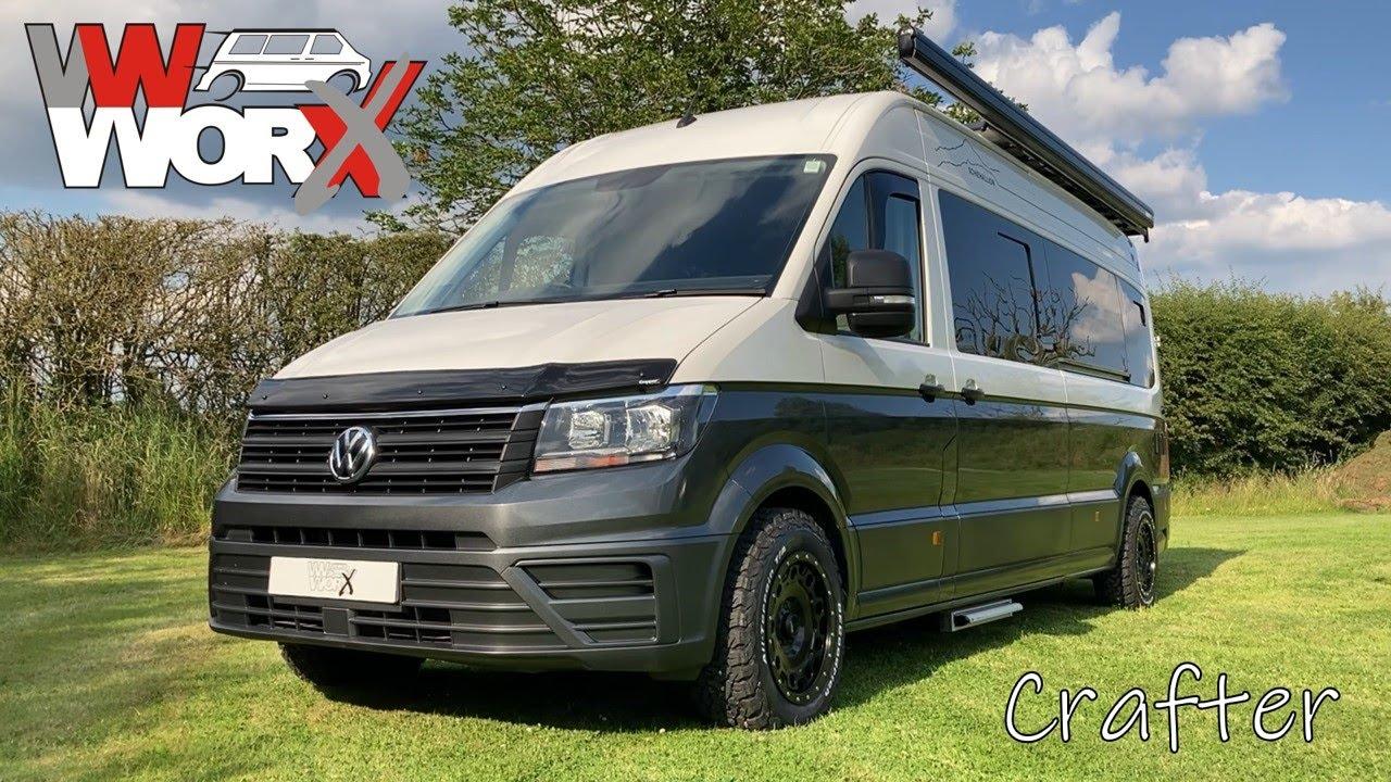 VW Worx 2019 Crafter Full Luxury Camper Conversion - Schiehallion