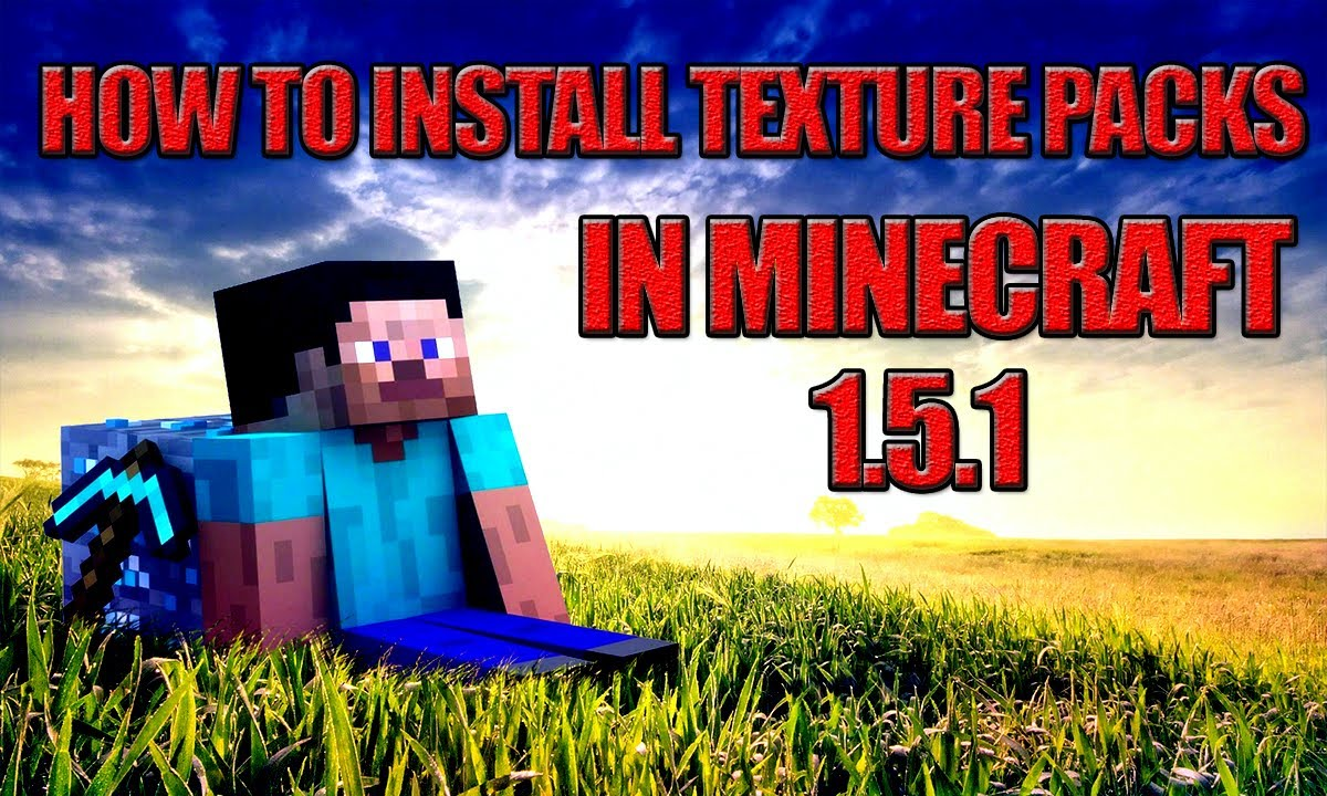Minecraft How to Install a Texture Pack 1.5.1! (2013) - YouTube