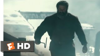 The Dark Valley (2014) - Blacksmith Fight Scene (7/8) | Movieclips