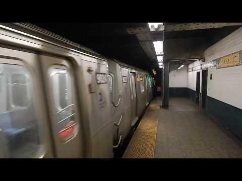 A little Canal Street (BMT Broadway Line/Bridge Station) Action!
