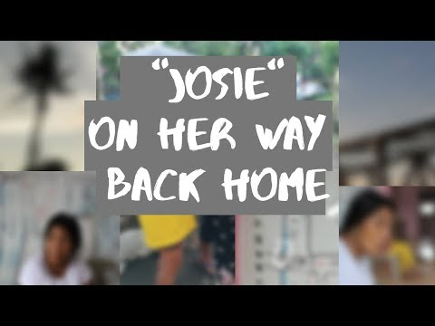 """WE HELP OUR KASAMBAHAY """"JOSIE"""" TO FIND HER WAY BACK HOME"""