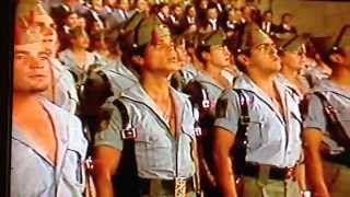 Himno de la legión española. Soy valiente y leal legionario