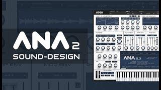 ANA 2 Sound Design with Bluffmunkey - Chiptune 8 Bit Sweep