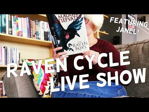 Raven Cycle Live Show with Janel!