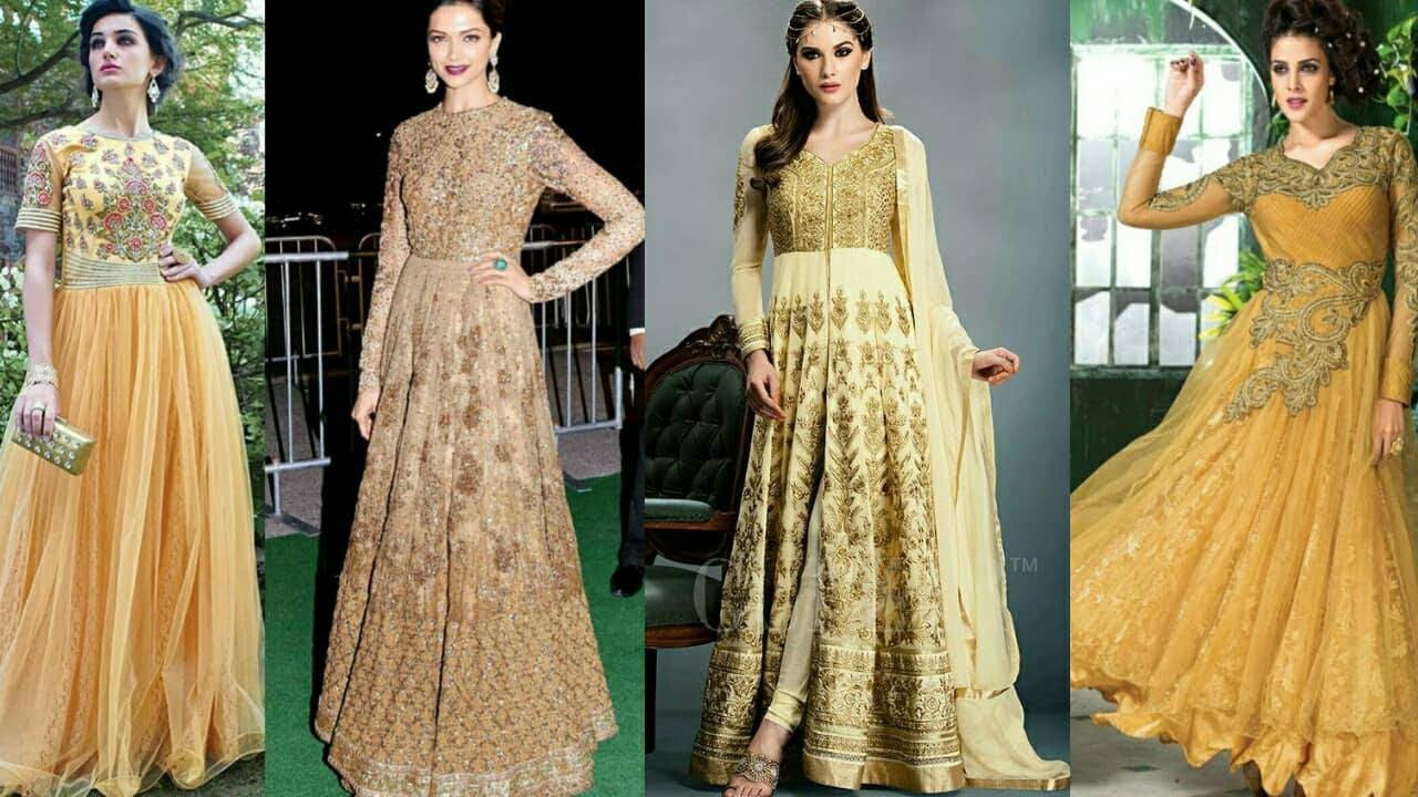 e1e200dfad Latest Indian Long Party Wear,Stylish Party Wear Gown Dress, Designs 2017- 2018 |Trendy India