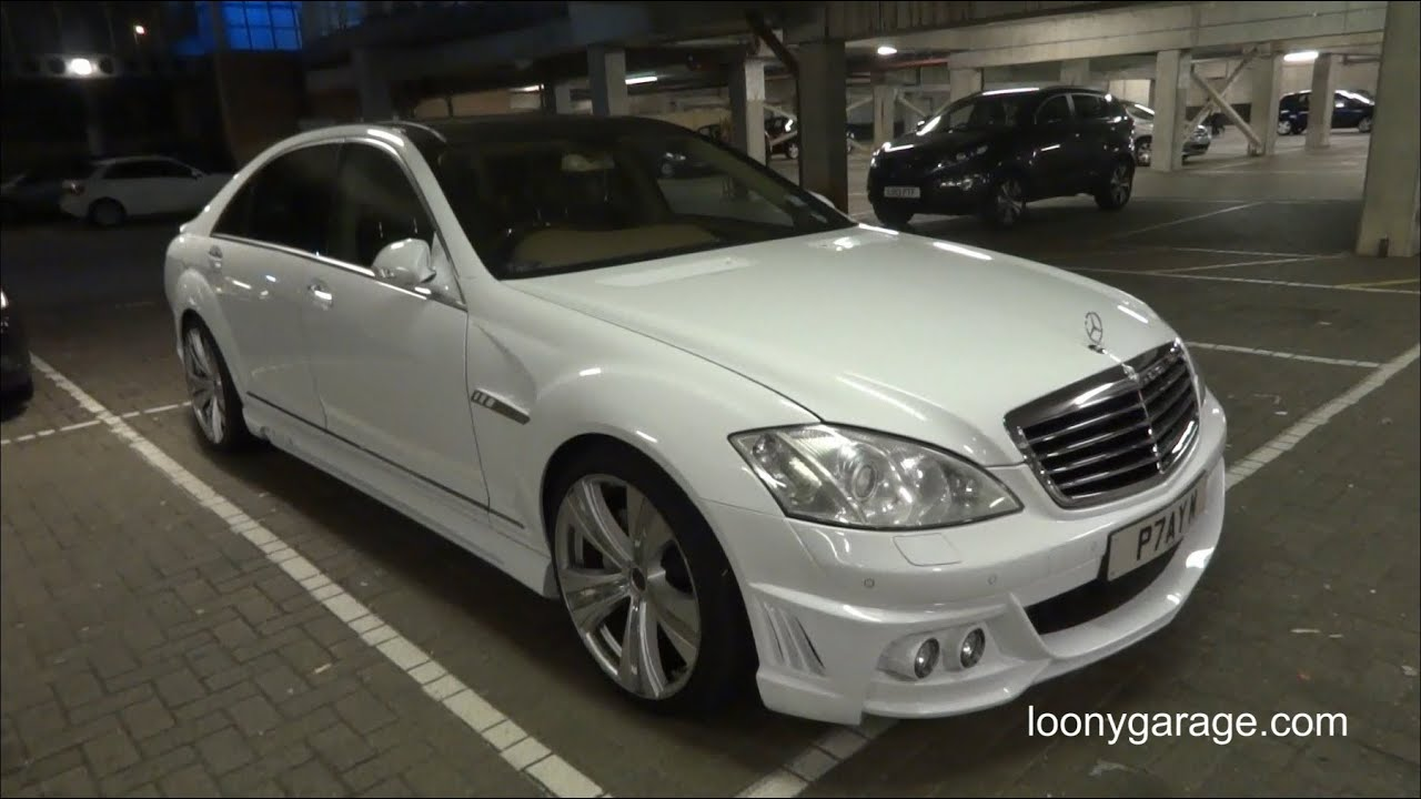 Mercedes Benz S Class W221 Wald Body Kit Youtube