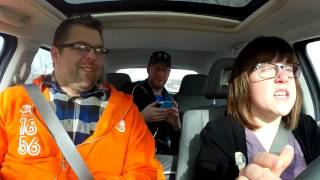 Andy and Tasha's In Car Singalong with Mitchell Olson