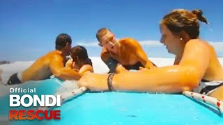 German Backpacker Doube Rescue | Bondi Rescue S6