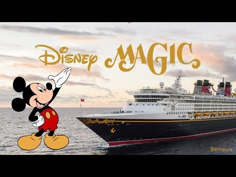 A Look at Disney Magic Cruise Ship, January 2018