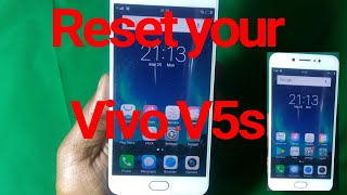 How To Hard Reset Vivo Mobiles
