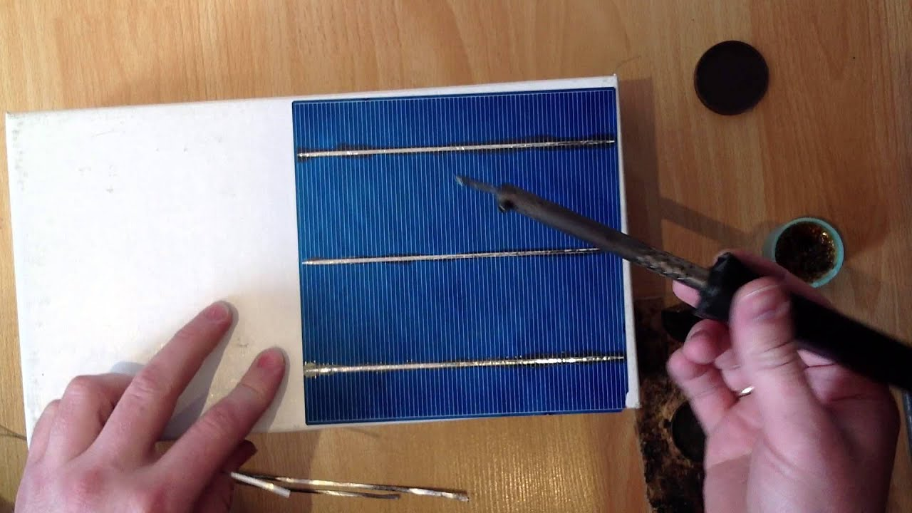 Сделать солнечную панель своими руками
