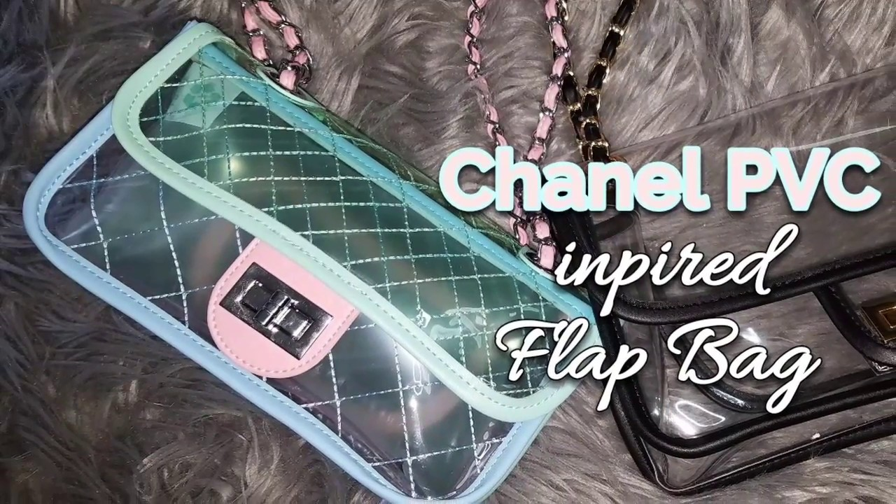 aca1176ff288 Another Chanel PVC inspired Flap Bag. IamLM28 Collection