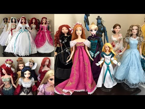 Disney Limited Edition Dolls OUT of the box and on Display