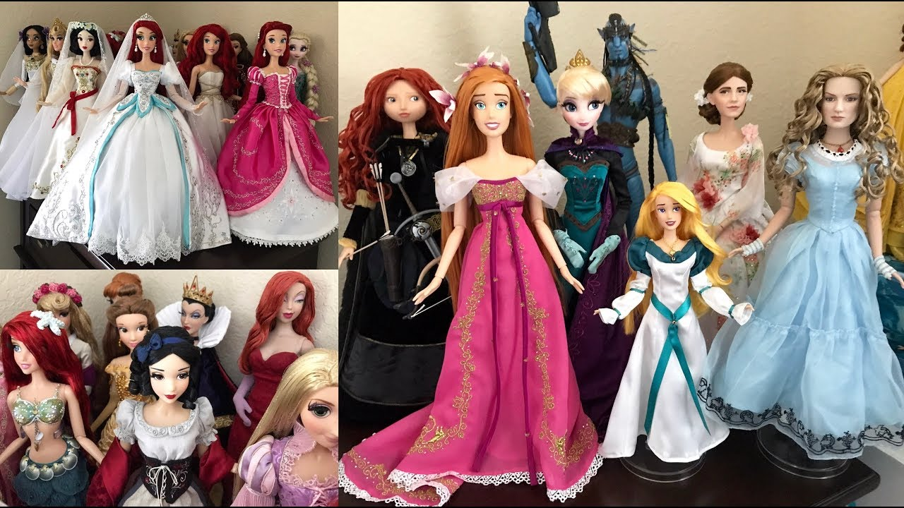 Disney Limited Edition Dolls OUT of the box and on Display ...