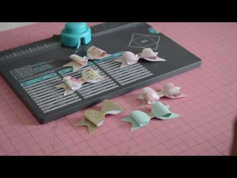 *TUTORIAL* Paper Bows using the Envelope Punch Board