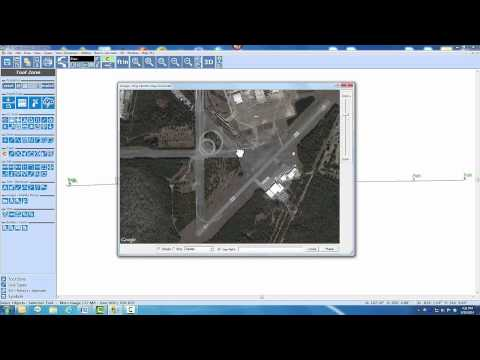 GPS Data Automatically Aligned to Sat Image Data