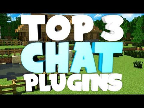 "Minecraft Saturday   Top 3 ""CHAT"" Plugins!"