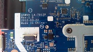 Ремонт ноутбука після іншої майстерні. Платформа Compal LA-7912p Rev 1.0