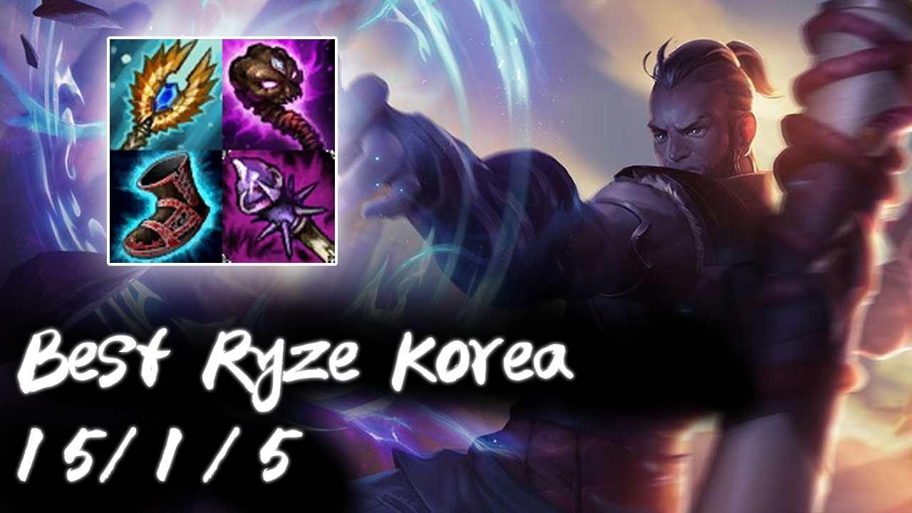 Best Ryze Korea Mid vs Taliyah | Korea High Elo Replays