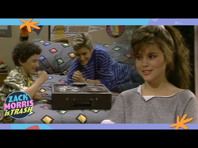 The Time Zack Morris Broke Into A House To Record A Slumber Party