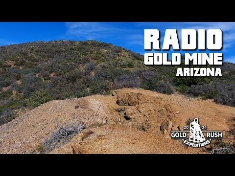 Radio Gold Mining Claim - Arizona - 2017