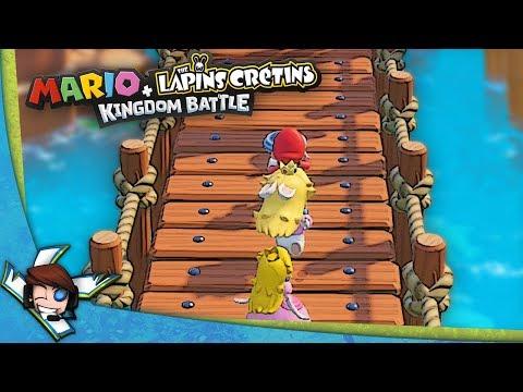 Le level bonus du monde 1 : Mario + Lapins Crétins #15