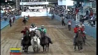 CABALLO MANGA Y COLEO TV... Campeonato Nacional CAT A 2006. Valle de la Pascua-Guarico 1/4