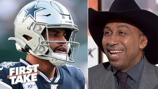 Download Stephen A. is overjoyed with the Cowboys' 3-game losing streak on his birthday | First Take Mp3 and Videos