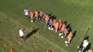 4231 movement explanation using cones to represent the players a la real madrid
