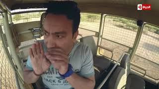 فيديو.. ذعر سامح حسين لحظة هجوم الأسد على سيارته