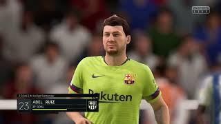 FIFA 19 라리가 바르셀로나vs데포르티보