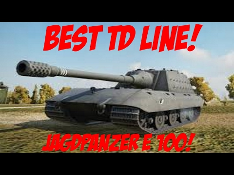 World of Tanks - Best Tank Destroyer Line! - (World of Tanks X1 Gameplay)