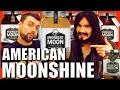 Irish People Taste Test 'American Moonshine' - (100% Proof)
