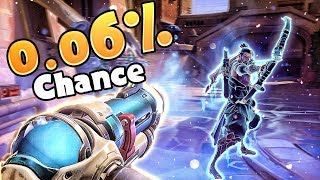 LUCKY 0.06% Chance Mei Freeze!? - Overwatch Funny Moments & Best Plays 46