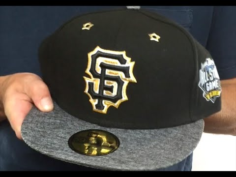 7705234b4f6b8 SF Giants  2016 MLB ALL-STAR GAME  Fitted Hat by New Era - YouTube