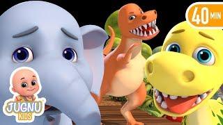 dinosaurs | toys | Bobo Rescue Elephant & Dino Baby | Tyrannosaurus Rex Anatomy Kit | Surprise Box