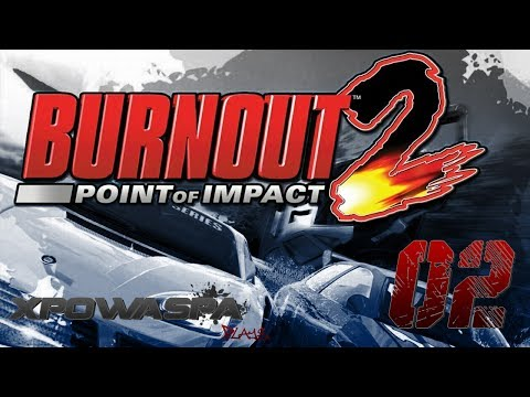 Burnout 2 [02] Pursuit 01 / Winding Road / Oval Racer Face Off