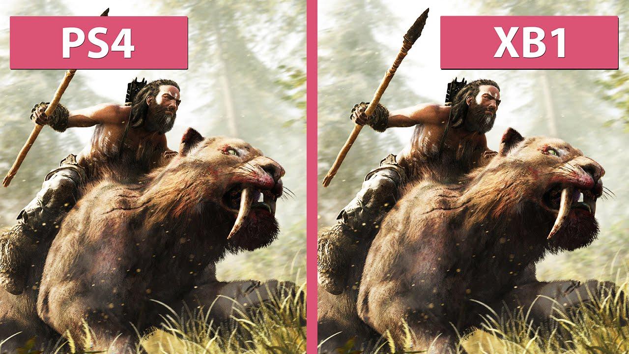 Far Cry Primal – PS4 vs  Xbox One Graphics Comparison
