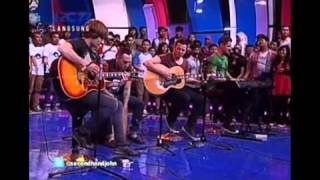 Repeat youtube video Secondhand Serenade - Fall For You (Acoustic) LIVE in Dahsyat Indonesia