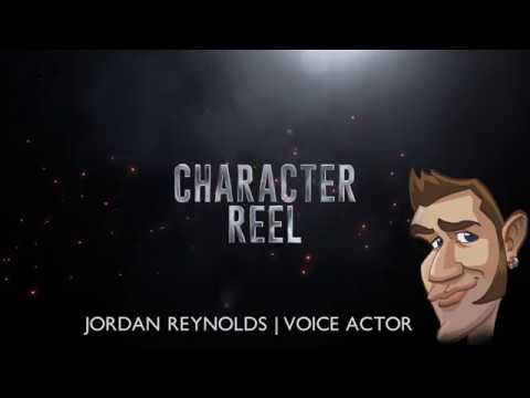 Character Reel  Jordan Reynolds Voice Actor