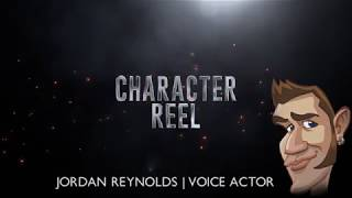 Character Reel - Jordan Reynolds Voice Actor