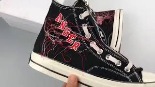 Los Angeles streetwear brand American rock and roll Mr. X Converse ...